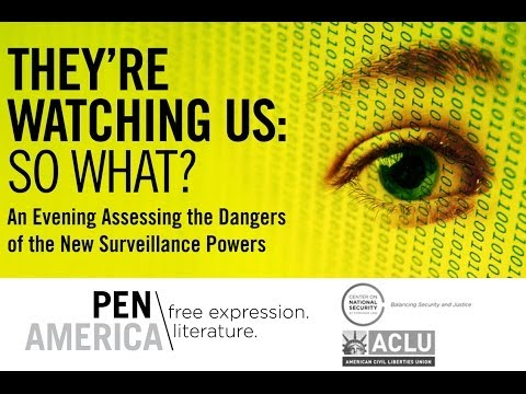 They're Watching Us: So What?