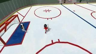 ROBLOX Hockey Penalti Tiro!