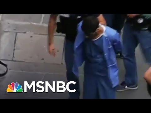 New Video Of Paris Train Attack Suspect | MSNBC