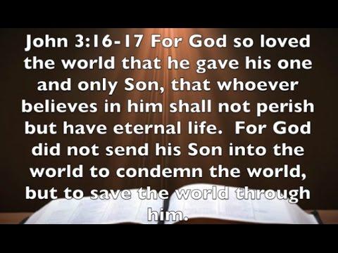 John 316 17 The Message Of Christmas