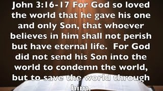 John 3:16-17 The Message of Christmas