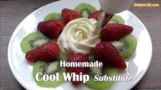 Homemade Cool Whip Substitute | Dietplan-101.com