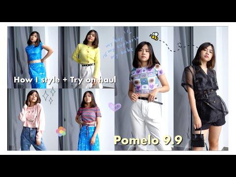College Student Fashion Haul and Styling a la Pomelo