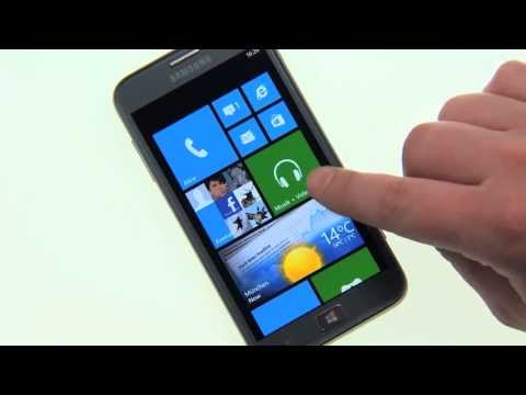 Samsung ATIV S App