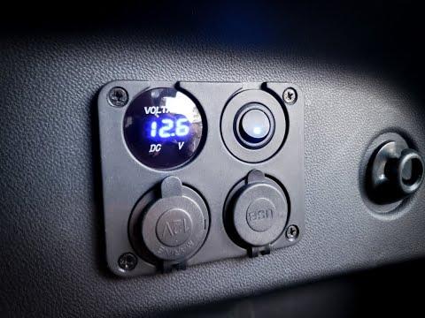 DIY 12v Panel Install – Subaru Crosstrek