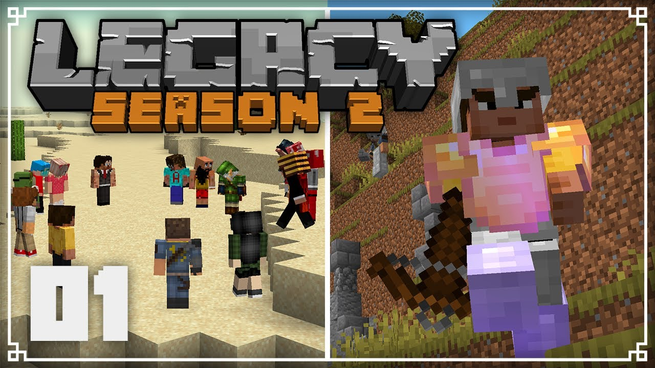Legacy SMP 2   A Brand New World!    Minecraft 1.16 Survival Multiplayer