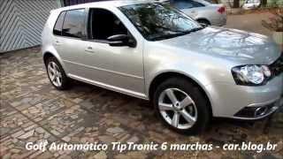 vw golf automtico tiptronic 6 teste www car blog br