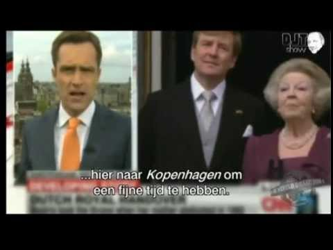 CNN's Max Foster reporting from... Copenhagen, The Netherlands?