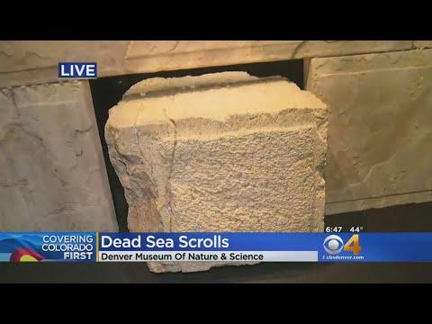 Ancient Manuscripts, Artifacts On Display In Dead Sea Scrolls Exhibit