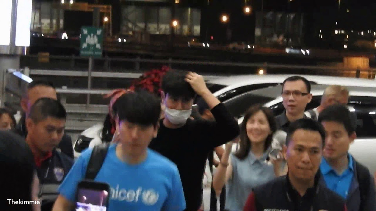 181216 Siwon at Suvarnabhumi Airport (After The Blue Carpet Show for UNICEF)