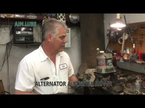 What Is The Best Shop Lube For Manufacturing And Rebuilding Starters And Alternators