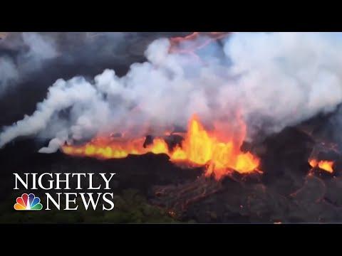 Hawaii鈥檚 Kilauea Lava Destroys More Homes | NBC Nightly News