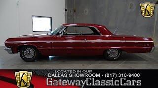 1964 Chevrolet Impala Stock #244 Gateway Classic Cars of Dallas