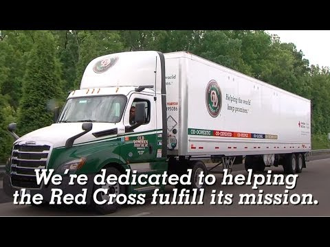 ODFL Partnership With American Red Cross