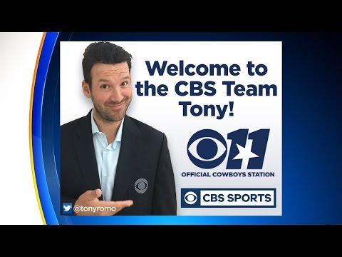 Tony Romo And CBS Sports Hold Teleconference