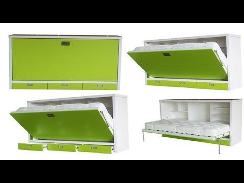 Складная мебель. Идеи экономии пространства в квартире.