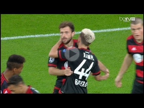 Amazing Admir Mehmedi Goal  - Bayer Leverkusen vs Bate Borisov 1 0 Champions League 16/9/2015