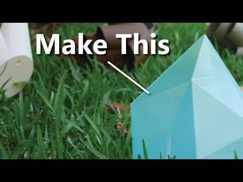 How I made this! Low Polygon Tutorial. EASY