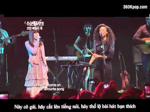 [360kpop Vietsub] IU & Corinne Bailey Rae - Put Your Records On (Apr 6, 2011).mkv