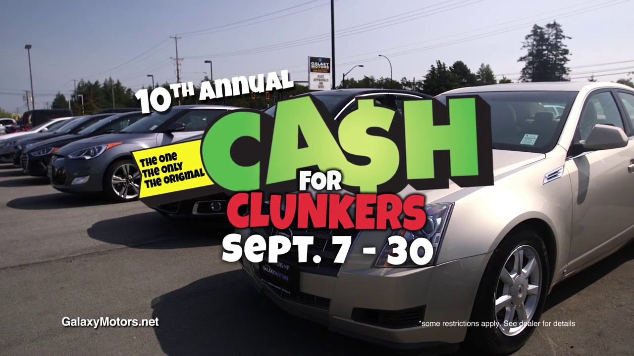 Cash For Clunkers >> Galaxy Cash For Clunkers 2018