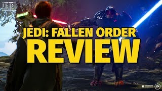 Jedi: Fallen Order Review - An Elegant Game For a More Civilized Age (Video Game Video Review)
