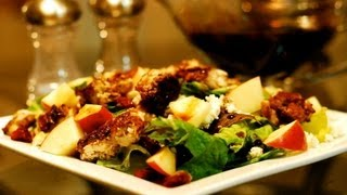 Raspberry Balsamic Chicken Salad