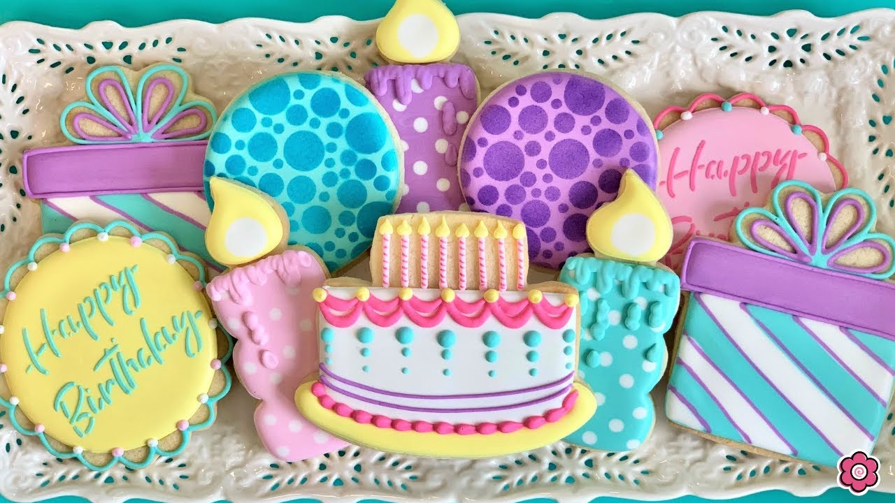 How to Decorate Birthday Cookies