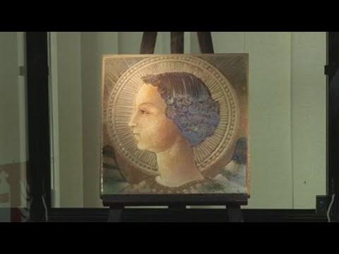 Desvelan a primeira obra pictórica de Da Vinci, un inédito Arcanxo Gabriel