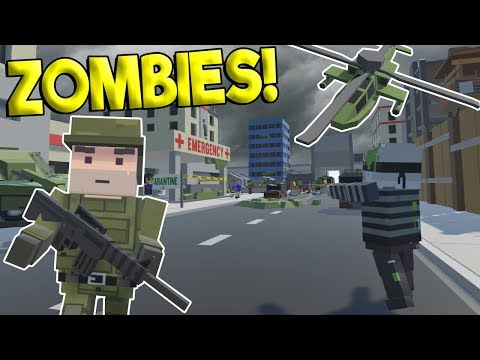 ZOMBIES APOCALYPSE vs MILITARY FORCES BATTLE! - Tiny Town VR Gameplay - Oculus Rift Game