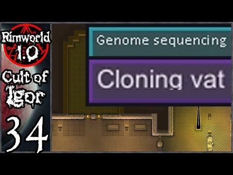 Rimworld 1.0: Cult of Igor #34 - Genetic Experiments and Golden Halls