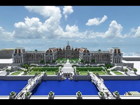 Minecraft Imperial Summer Palace and Gardens
