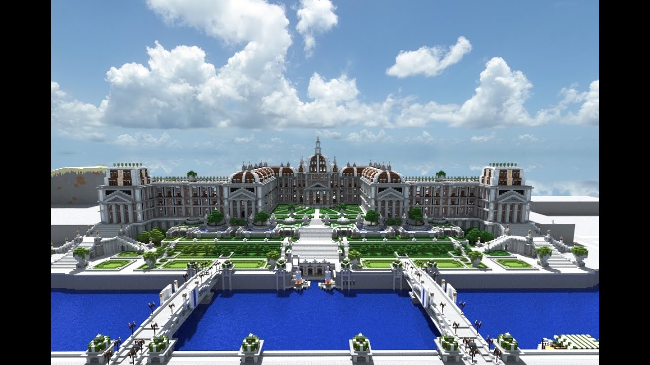 Minecraft Imperial Summer Palace and Gardens - YouTube