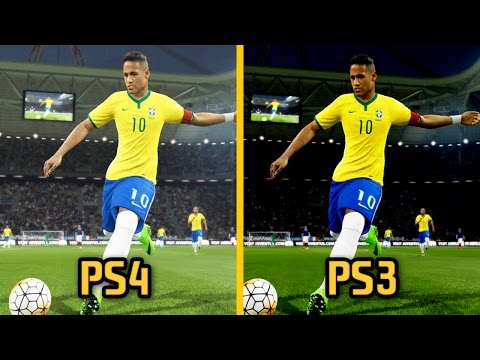 PES 2016 - PS3 vs PS4 Graphics and Gameplay Comparison