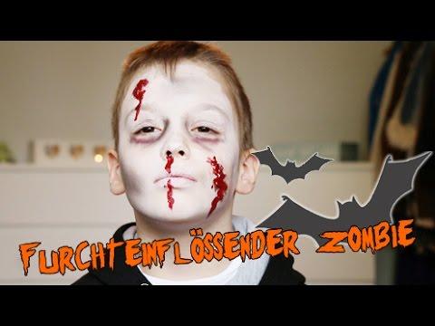 Furchteinflossender Zombie Kinderschminken Fur Halloween Radio