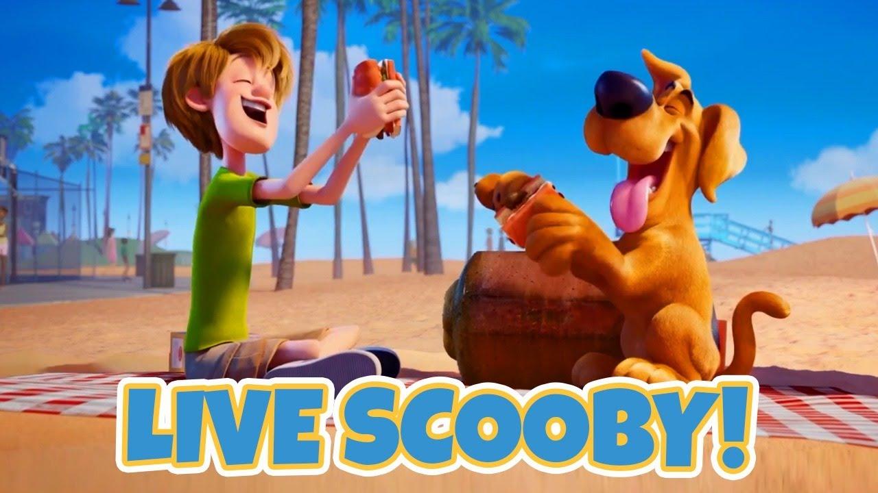 Live De Lancamento Scooby O Filme Youtube