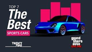 GTA Online - TOP 7 The Best Sports Cars / Melhores carros esportivos