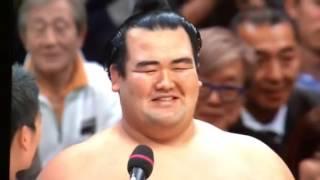 日本出身力士10年ぶり優勝.