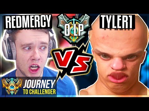 TYLER1 TRIES TO DEMOTE ME TO DIAMOND??? - Journey To Challenger  League of Legends