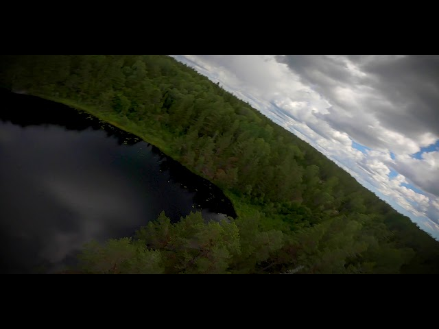 FPV drone flight at Horssjö Mölnbo