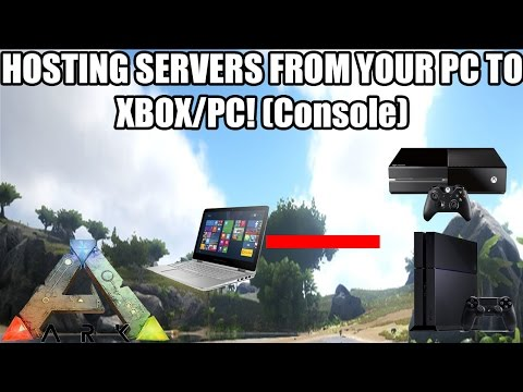 ARK: HOSTING SERVERS FROM YOUR PC TO CONSOLE! - RELEASE DATE AND MORE! - (XBOX/PS4)