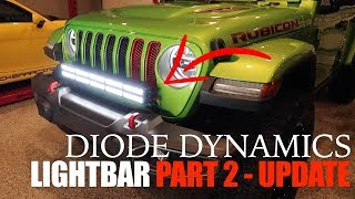 Modding the JL Bumper Trim to Work With the Diode Dynamics Light Bar