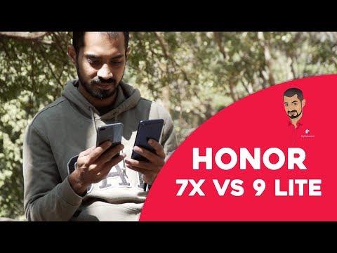 Honor 7x vs Honor 9 Lite Comparison in Tamil/தமிழ் thumbnail