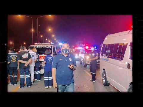 อุบัติเหตุ ถนน สุวินทวงศ์ - เสียชีวิต1ราย #กู้ภัยมูลนิธิป่อเต็กตึ๊ง