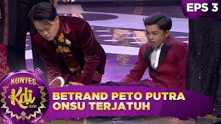 KAGET!! Betrand Peto Putra Onsu Terjatuh Saat Atraksi Master Limbad - Kontes KDI 2020 (17/8)