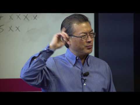 Dr. Joon Yun speaking at Draper University, 1/6/17