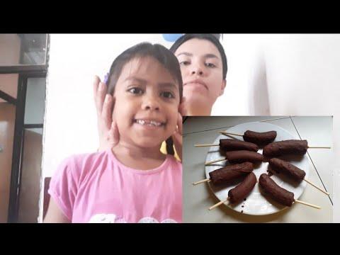CHOCOBANANAS CON COCOA Y MANTECA VEGETAL / Cocinando con Erika