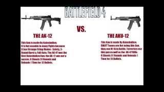 Lego Weapons Battle Ep. 4: AK-12 VS. AKU-12 Carbine (Battlefield 4)