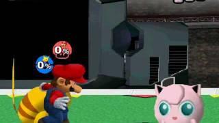 M.U.G.E.N: Mario & Pikachu VS Team Jigglypuff