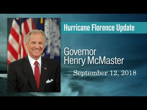 Hurricane Florence Update - 09/12/18