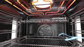 Les fours Siemens iQ700 varioSpeed : des cuissons jusqu'à 2x plus rapides